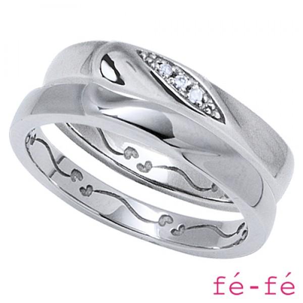 【fe-fe フェフェ】ステンレス ペアリング スーパースチール fe-266&267【楽ギフ_包装選択】