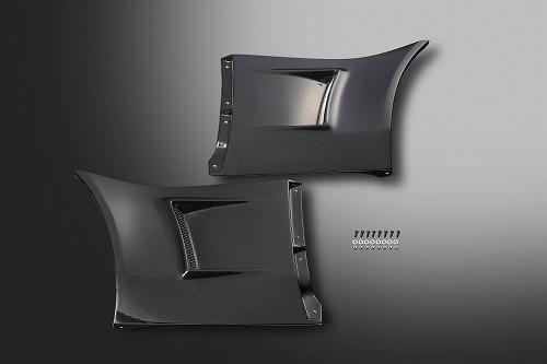 S2000 TYPE-Sワイドフェンダー専用FRPダクトセット