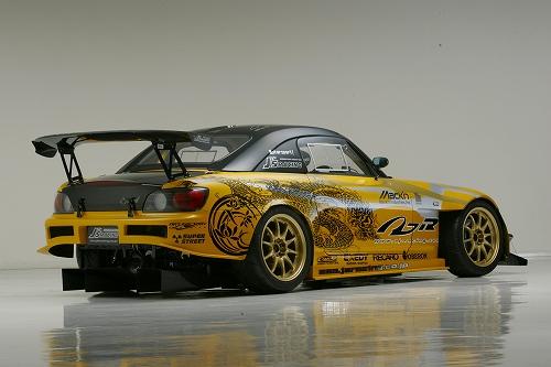 S2000 3D GT-WING1600 TYPE1 WETカーボン