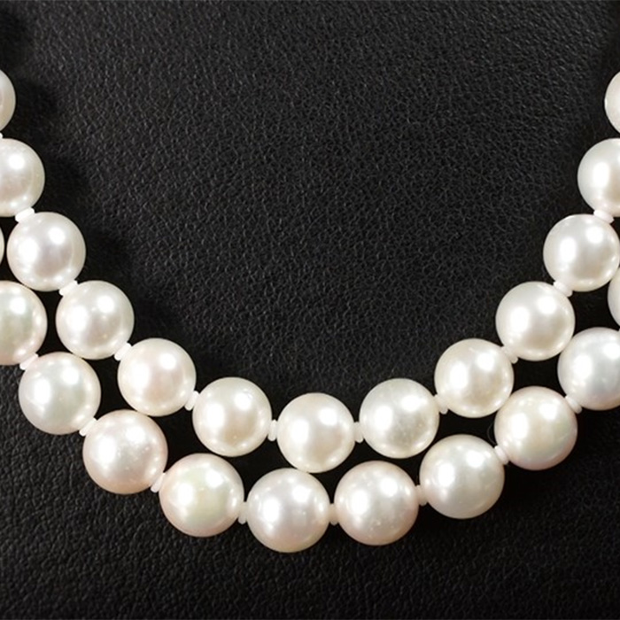 伊勢志摩産 あこや真珠7.5-8mm珠セット(ネックレス、イヤリングまたはピアス)