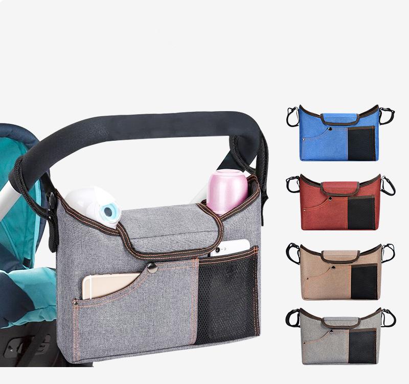 ベビーカー用のバッグでおしゃれなものや倒れない便利なものなどおすすめは?
