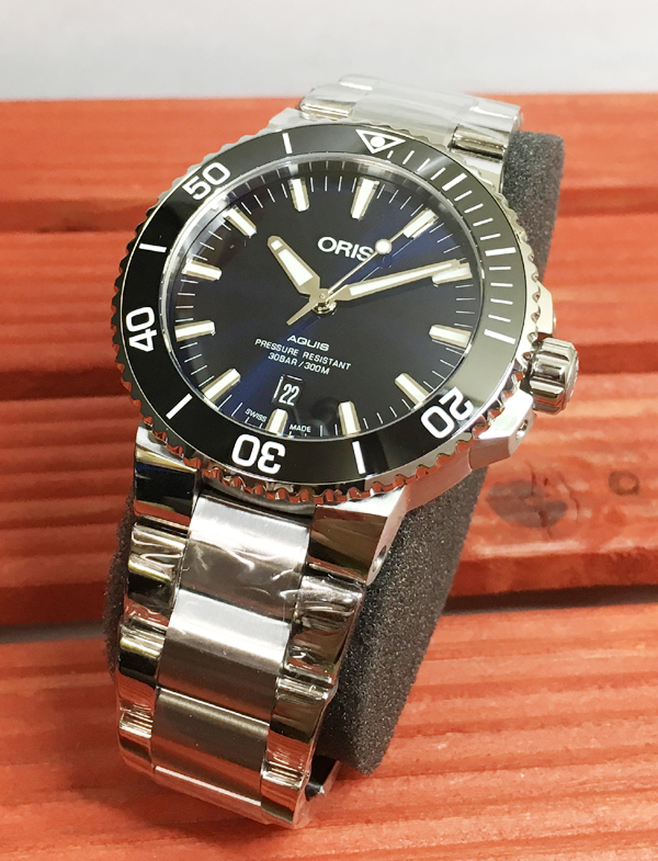 新品 ORIS オリス 腕時計 メンズ ウォッチ アクイスダイバーズ 自動巻き ダイバーズウオッチ 733.7730.4135M ギフト 人気 ラッピング無料 国内正規3年保証