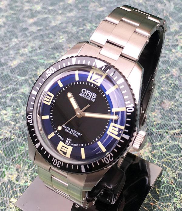 スーパーセール期間限定 オリスジャパン正規3年保証 新品 ORIS オリス 腕時計 メンズ ウォッチ ダイバーズ65フルメタル新作 733.7707.4035M ギフト 人気 ラッピング無料 あす楽対応