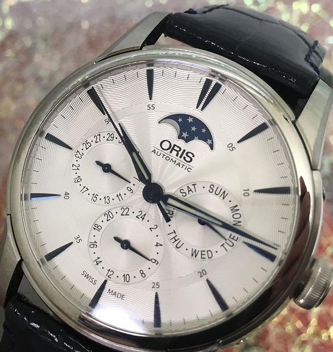 新品 ORIS オリス 腕時計 メンズ ウォッチ アートリエ コンプリケーション 781.7703.4031D ギフト 人気 ラッピング無料 国内正規3年保証