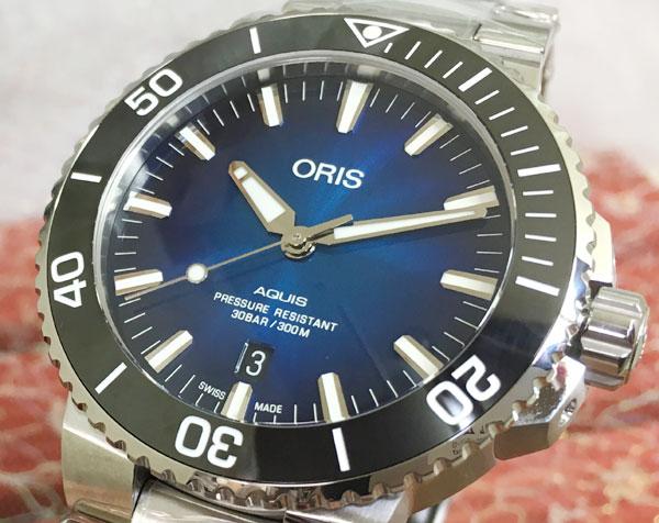 新品 ORIS オリス 腕時計 メンズ ウォッチ アクイスダイバーズ 733.7730.4185M ギフト 人気 ラッピング無料 国内正規3年保証