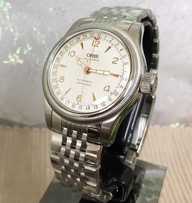 新品 ORIS オリス 腕時計 メンズ ウォッチ ダイバーズデイト 国内正規2年保証 7754.7543.4061M 白文字盤 40ミリ径 メタルブレス ギフト 人気 ラッピング無料 国内正規3年保証