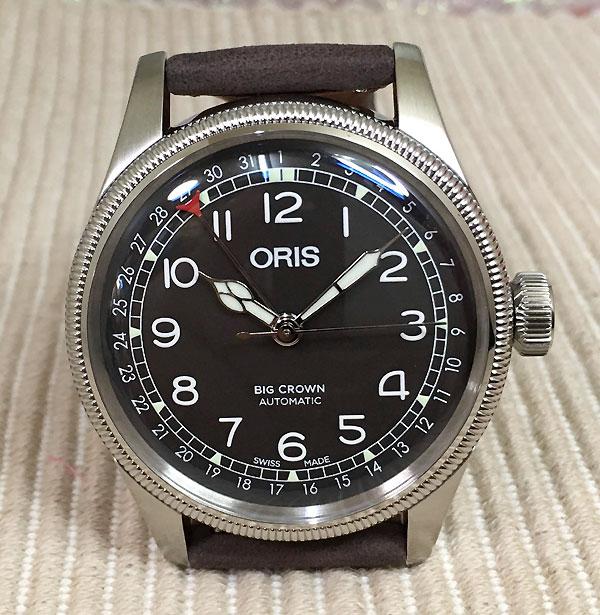 オリスジャパン正規3年保証 ORIS オリス 腕時計 メンズ ウォッチ ビッククラウンポインターデイト 754.7741.4064FBR ギフト 人気 ラッピング無料 国内正規3年保証 あす楽対応
