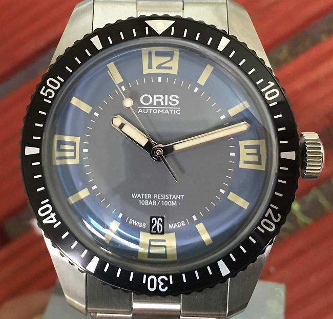 新品 ORIS オリス 腕時計 メンズ ウォッチ ダイバーズ65フルメタル新作 733.7707.4065M自動巻き ダイバーズウオッチ ギフト 人気 ラッピング無料 国内正規3年保証 スイスで廃盤の為希少品です