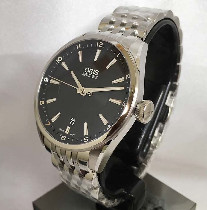 オリスジャパン正規3年保証 ORIS オリス腕時計 メンズ ウォッチ アートリエデイト 733.7713.4034M 自動巻き 限定2000本 ギフト 人気 ラッピング無料 国内正規3年保証
