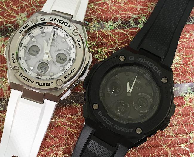 恋人たちのGショック ペアウォッチ G-SHOCK BABY-G ペア腕時計 カシオ 2本セット gショック ベビーg アナデジ GST-W310-7AJF GST-W300G-1A1JF人気 ラッピング無料