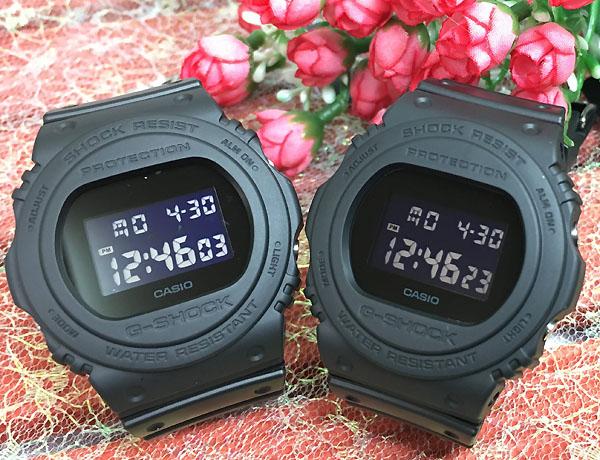 好きだよ恋人たちのGショックペア G-SHOCK BABY-G ペアウォッチ DW5700の復刻版 ペア腕時計 カシオ 2本セット gショックDW-5750E-1BJF DW-5750E-1BJF 人気 ラッピング無料 あす楽対応 クリスマスプレゼント