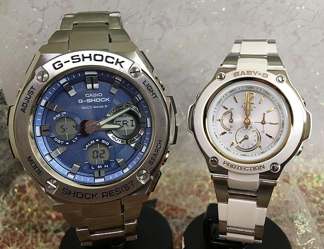 恋人たちのGショック ペア G-SHOCK BABY-G ペアウォッチ ペア腕時計 カシオ 2本セット gショック ベビーg GST-W110D-2AJF BGA-1400CA-7B3JF 人気 ラッピング無料