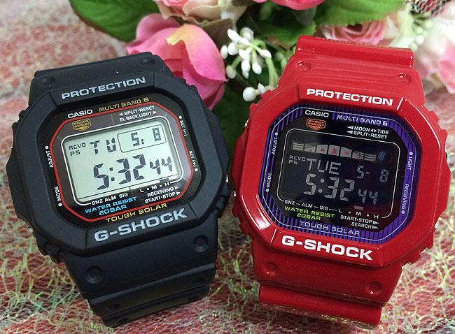 Gショック ペアウォッチ G-SHOCK BABY-G G-LIDE ペア腕時計 ソーラー電波 カシオ 2本セット gショック ベビーg デジタル アナデジ GW-M5610-1JF GWX-5600C-4JF人気 ラッピング無料 あす楽対応 クリスマスプレゼント