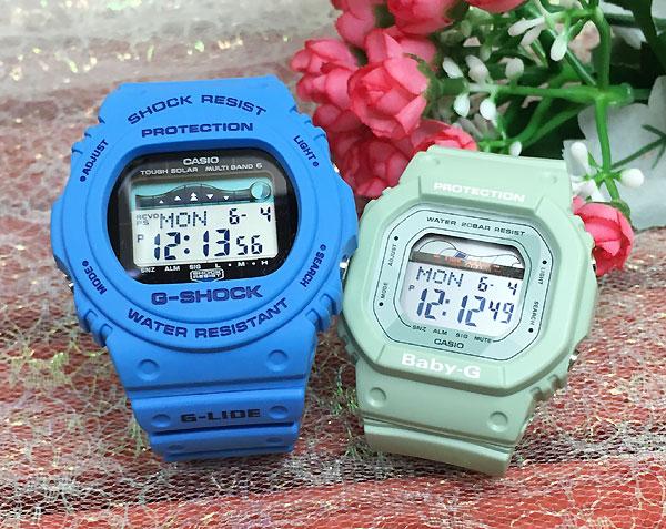 恋人たちのGショック ペアウオッチ G-SHOCK ペア腕時計 カシオ ホワイト2本セットGWX-5700CS-2JF BLX-560-3JFプレゼント ギフト ラッピング無料 メッセージカード g-shock