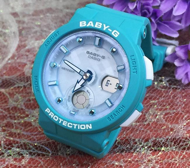 カシオ CASIO 腕時計 BABY-G ベビージー ビーチトラベラーシリーズ BGA-250-2AJF プレゼント 腕時計 ギフト 人気 ラッピング無料 愛の証 感謝の気持ち baby-g 国内正規品 新品 メッセージカード手書きします あす楽対応 クリスマスプレゼント