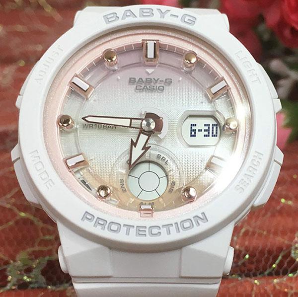 BABY-G カシオ BGA-250-7A2JF クオーツ ビートトラベラーシリーズ限定モデル プレゼント腕時計 ギフト 人気 ラッピング無料 愛の証 感謝の気持ち baby-g 国内正規品 新品 メッセージカード手書きします あす楽対応