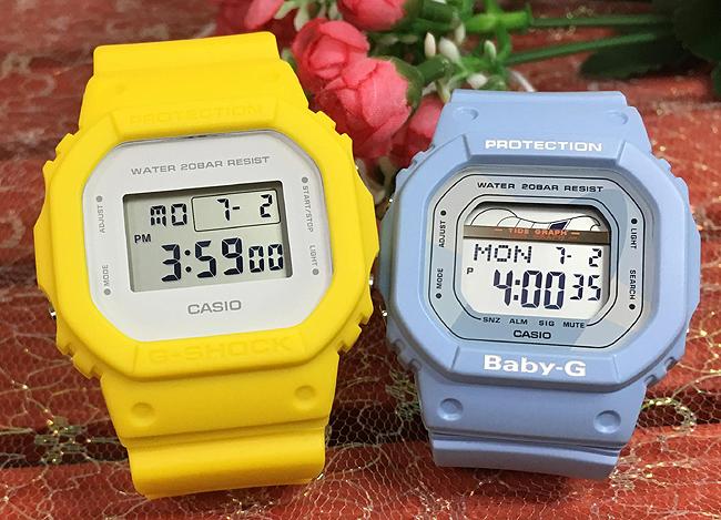 恋人たちのGショック ペアウオッチ G-SHOCK ペア腕時計 カシオ DW-5600CU-9JF BLX-560-2JFプレゼント ギフト ラッピング無料 メッセージカード g-shock あす楽対応 クリスマスプレゼント