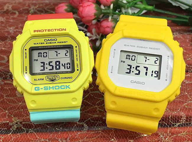恋人たちのGショック ペアウオッチ G-SHOCK BABY-G ペア腕時計 カシオ 2本セット gショック ベビーg DW-5600CMA-9JF DW-5600CU-9JF デジタル お揃い 人気 ラッピング無料 あす楽対応 クリスマスプレゼント