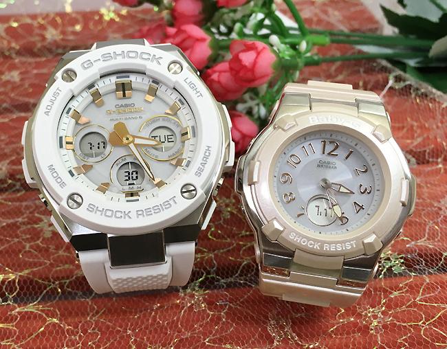 恋人達のGショック ペアウォッチ G-SHOCK BABY-Gペア腕時計 カシオ 2本セット gショック ベビーg デジタル アナデジ GST-W300-7AJF BGA-1100-4BJF 人気 ラッピング無料 あす楽対応 クリスマスプレゼント