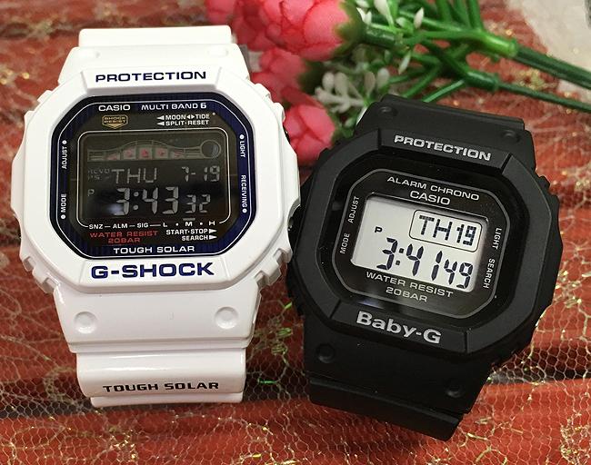 恋人たちのGショック ペアウオッチ G-LIDE G-SHOCK BABY-G ペア腕時計 カシオ 2本セット gショック ベビーg GWX-5600C-7JF BGD-560-1JF デジタル人気 ラッピング無料g-shock G-LIDEあす楽対応 クリスマスプレゼント