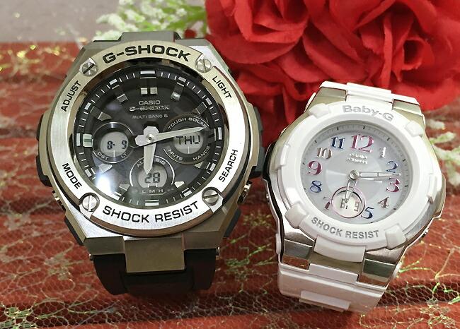 恋人達のGショックペアウォッチ G-SHOCK BABY-G ペア腕時計 カシオ 2本セット gショック ベビーg デジタル アナデジ GST-W310-1AJF BGA-1100GR-7BJF人気 ラッピング無料 あす楽対応 クリスマスプレゼント ほんのり好きでいてください