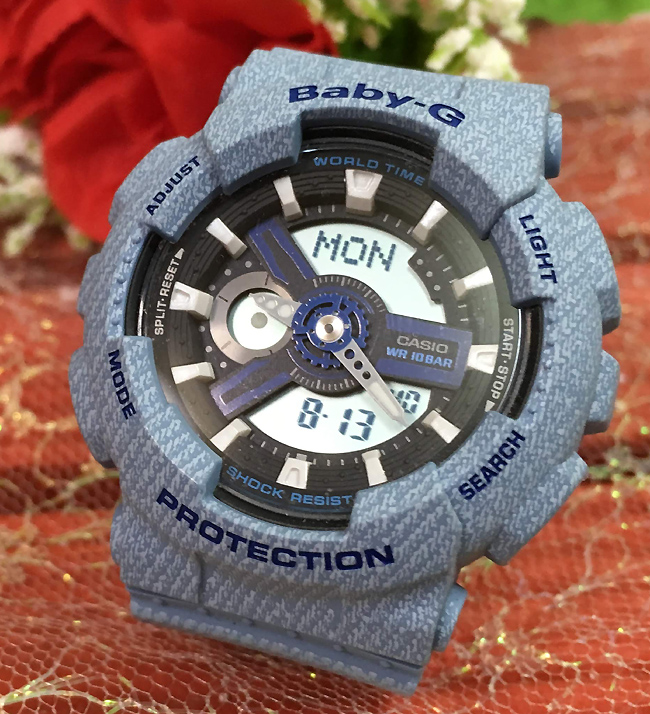 BABY-G カシオ BA-110DE-2A2JF 廃番希少品 クオーツ プレゼント腕時計 ギフト 人気 ラッピング無料 愛の証 感謝の気持ち baby-g 国内正規品 新品 メッセージカード手書きします あす楽対応 クリスマスプレゼント