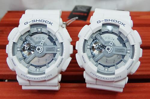 恋人たちのGショック ペアウオッチ G恋人たちのショック ペア G-SHOCK ペア腕時計 GSHOCK ジーショック カシオメンズ レディース 双子コーデ GA-110C-7AJF 人気 ラッピング無料 手書きのメッセージカードお付けいたしますg-shock ペアウオッチ クリスマス