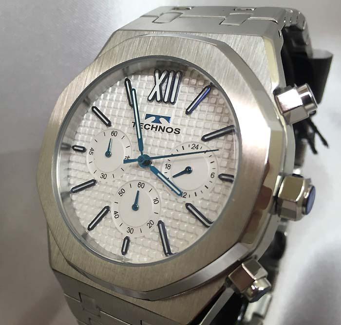 テクノス メンズウォッチ メンズ腕時計 TECHNOS T9576SW ギフト ラッピング無料 手書きのメッセージカードお付けします あす楽対応