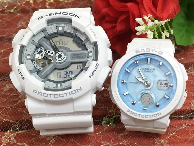 恋人たちのGショック ペアウオッチ G-SHOCK ペア腕時計 カシオ GA-110C-7AJF BGA-250-7A1JF プレゼント ギフト ラッピング無料 メッセージカード g-shock あす楽対応 クリスマス