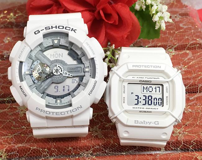 恋人たちのGショック ペアウオッチ G-SHOCK BABY-G ペア腕時計 カシオ 2本セット gショック ベビーg GA-110C-7AJF BGD-501-7JFプレゼント ギフト 人気 ラッピング無料 新品メッセージカード手書きします g-shock あす楽対応 クリスマス
