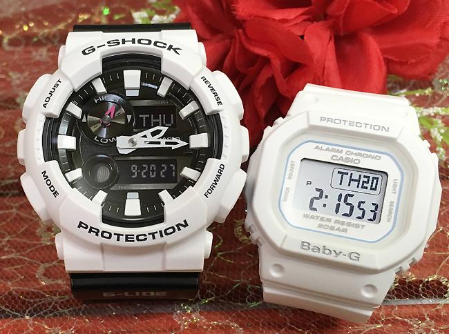 恋人たちのGショック ペアウオッチ G-SHOCK BABY-G ペア腕時計 カシオ 2本セット gショック ベビーg GAX-100B-7AJF BGD-560-7JF プレゼント ギフト 人気 ラッピング無料 新品メッセージカード手書きします g-shock あす楽対応 あす楽対応 クリスマスプレゼント