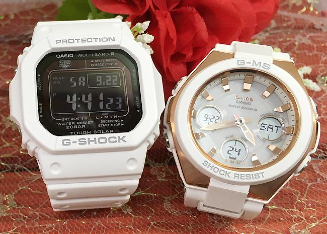 恋人たちのGショックペア G-SHOCK BABY-G ペアウォッチ ペア腕時計 カシオ 2本セット gショック 電波ソーラー GW-M5610MD-7JF MSG-W100G-7AJF人気 ラッピング無料 あす楽対応 クリスマスプレゼント