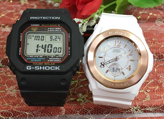 恋人たちのGショックペア G-SHOCK BABY-G ペアウォッチ ペア腕時計 カシオ 2本セット gショック 電波ソーラー GW-M5610-1JF BGA-1050BLG-7BJF 人気 ラッピング無料 あす楽対応 クリスマスプレゼント