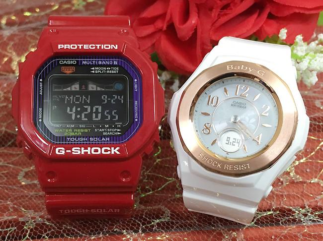 恋人たちのGショックペア G-SHOCK BABY-G ペアウォッチ ペア腕時計 カシオ 2本セット gショック 電波ソーラー GWX-5600C-4JFBGA-1050BLG-7BJF人気 ラッピング無料 あす楽対応