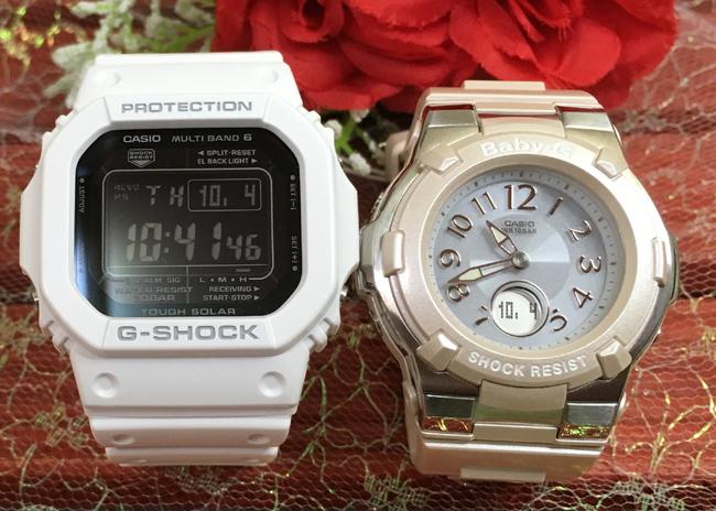 恋人達のGショックペアウオッチ G-SHOCK BABY-G ペア腕時計 カシオ 2本セット ソーラー電波gショック ベビーg デジタル アナデジGW-M5610MD-7JF BGA-1100-4BJF 人気 ラッピング無料 あす楽対応 クリスマスプレゼント