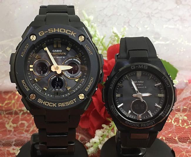 恋人たちのGショック ペアウオッチ G-SHOCK BABY-G ペア腕時計 カシオ 2本セット gショック G-MS ベビーg アナデジ GST-W300BD-1AJF MSG-W200G-1A2JF ギフト ラッピング無料 メッセージカード g-shock あす楽対応 クリスマスプレゼント