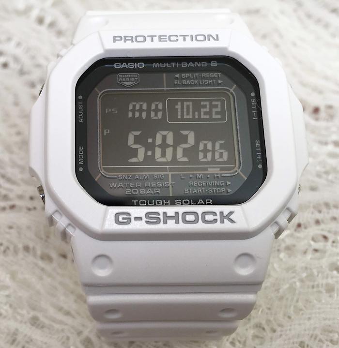 GショックG-SHOCK カシオ メンズウオッチ gショック GW-M5610MD-7JF 電波ソーラー 大人のG-SHOCK 白 スピードモデル 腕時計 ギフト 人気 ラッピング無料 愛の証 感謝の気持ち g-shock メッセージカード手書きします あす楽対応