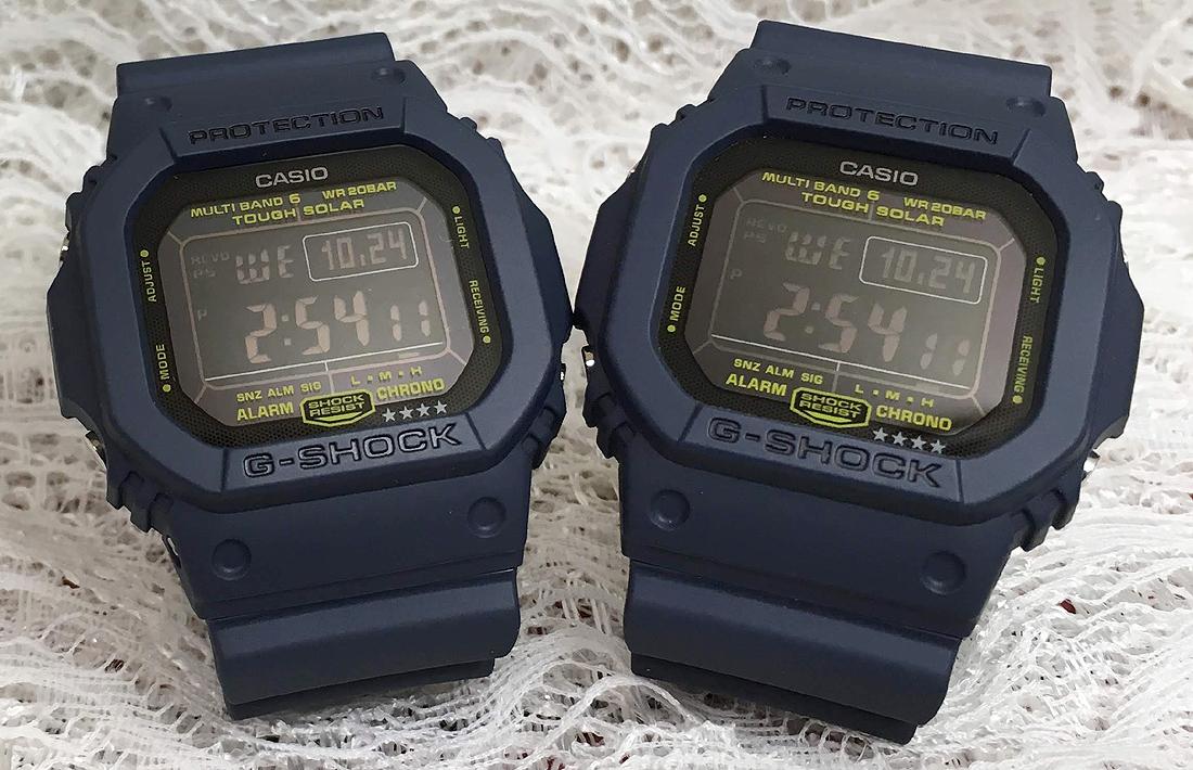 恋人たちのGショック ペアウオッチ G-SHOCK BABY-G ペア腕時計 カシオ 2本セット gショック ベビーg GW-M5610NV-2JF BGD-5000-2JF デジタル ソーラー電波 ギフト ラッピング無料 メッセージカード g-shock
