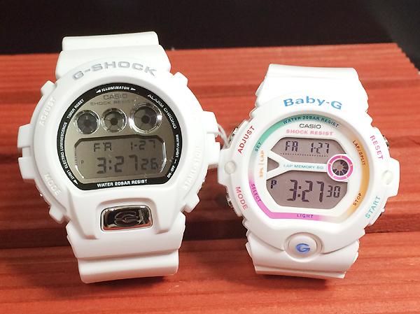 恋人たちのGショック ペアウオッチ カシオ G-SHOCK ペアウオッチ ペア腕時計 ホワイト 白 2本セット 人気 ラッピング無料g-shock あす楽対応 クリスマスプレゼント