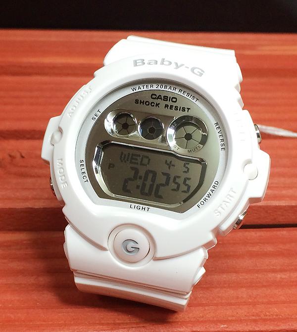 BABY-G カシオ 白 BG-6900-7JF プレゼント 腕時計 ギフト 人気 ラッピング無料 愛の証 感謝の気持ち baby-g 国内正規品 新品 メッセージカード手書きします あす楽対応 クリスマスプレゼント