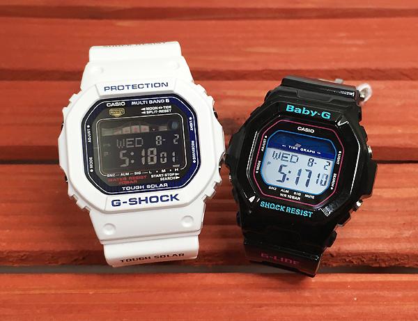 恋人たちのGショック ペアウオッチ G-SHOCK BABY-G ペア腕時計 カシオ 2本セット gショック ベビーg GWX-5600C-7JF BLX-5600-1JF デジタル G-LIDE プレゼント ギフト ラッピング無料 メッセージカードg-shockあす楽対応 クリスマスプレゼント