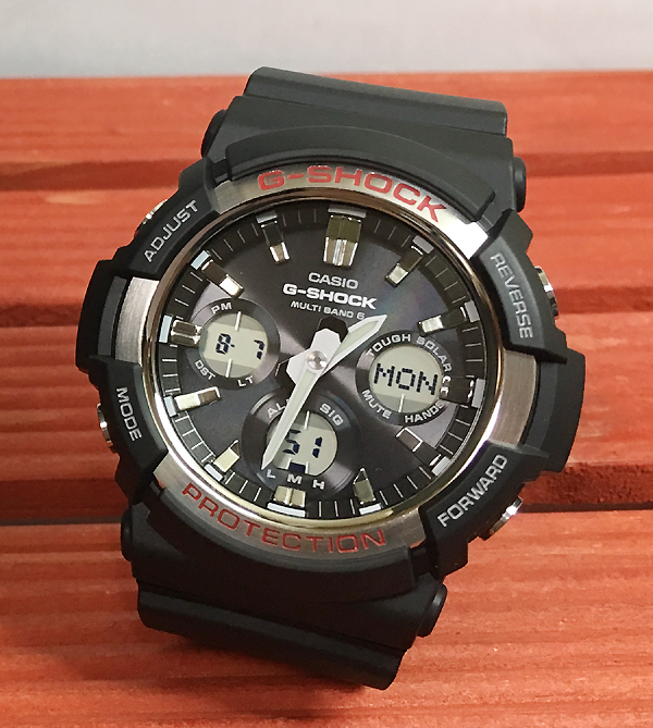 国内正規品 新品 Gショック G-SHOCK メンズ腕時計 カシオ gショック GAW-100-1AJF ソーラー電波 腕時計 ギフト 人気 ラッピング無料  g-shock あす楽対応 クリスマスプレゼント