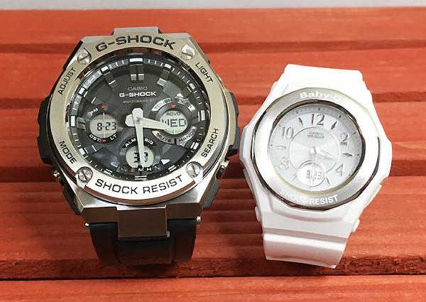 好きだよ恋人たちのGショックペア G-SHOCK BABY-G ペアウォッチ ペア腕時計 カシオ 2本セット gショック ベビーg アナデジ GST-W110-1AJF BGA-1050-7BJF 人気 ラッピング無料 クリスマス