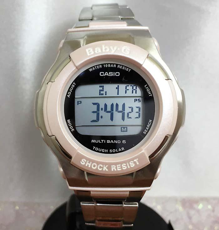 大人気 BABY-G カシオ電波ソーラーレディースウオッチ BGD-1300D-4JFプレゼント 腕時計 ギフト 人気 ラッピング無料 愛の証 感謝の気持ち baby-g 国内正規品 新品 メッセージカード手書きします あす楽対応