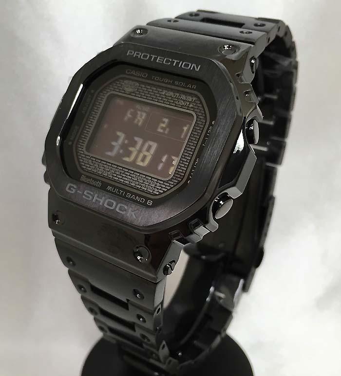 国内正規品 新品 GショックG-SHOCK カシオ メンズウオッチ gショック デジタル GMW-B5000GD-1JFプレゼント 腕時計 ギフト 人気 ラッピング無料 電波ソーラー g-shock ブラック メタルブレスあす楽対応
