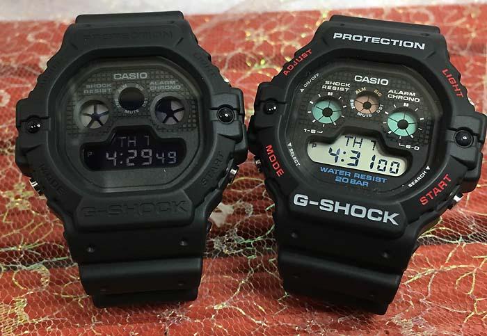 恋人たちのGショック ペアウオッチ G-SHOCK BABY-G ペア腕時計 カシオ 2本セット gショック DW-5900-1JF DW-5900BB-1JF プレゼント ギフト ラッピング無料 メッセージカード g-shock ペアウオッチ クリスマスプレゼント