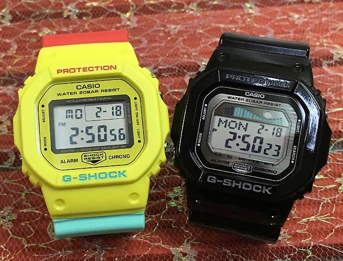 恋人たちのGショックペアウオッチ G-SHOCK BABY-G ペア腕時計 カシオ 2本セット gショック ベビーg DW-5600CMA-9JF GLX-5600-1JF 人気 ラッピング無料 g-shock 送料無料 あす楽対応