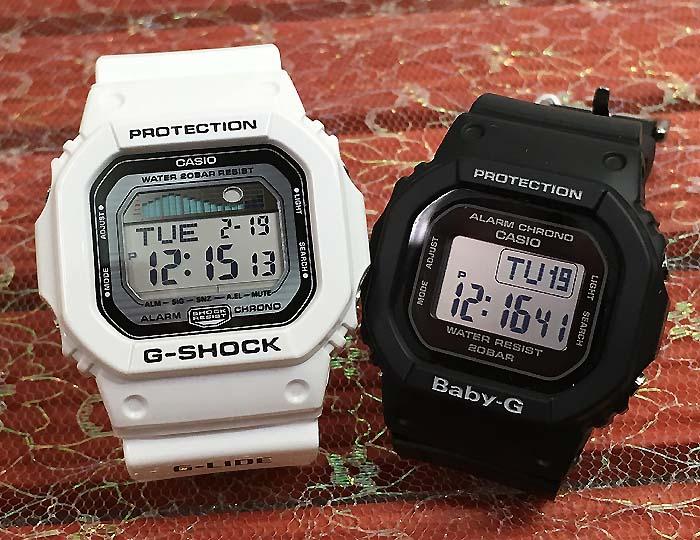 恋人たちのGショック ペアウオッチ G-SHOCK BABY-G ペア腕時計 カシオ 2本セット gショック ベビーg GLX-5600-7JF BGD-560-1JFデジタル 人気 ラッピング無料g-shock あす楽対応 クリスマスプレゼント