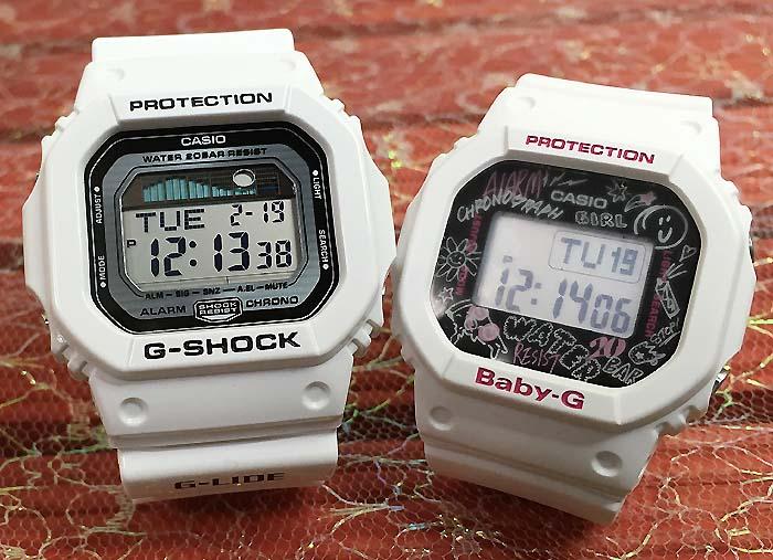 恋人たちのGショックペアペアウォッチ G-SHOCK BABY-G ペア腕時計 カシオ 2本セット gショック ベビーg アナデジ GLX-5600-7JF BGD-560SK-7JFお揃い プレゼント ギフト あす楽対応人気 ラッピング無料 クリスマスプレゼント