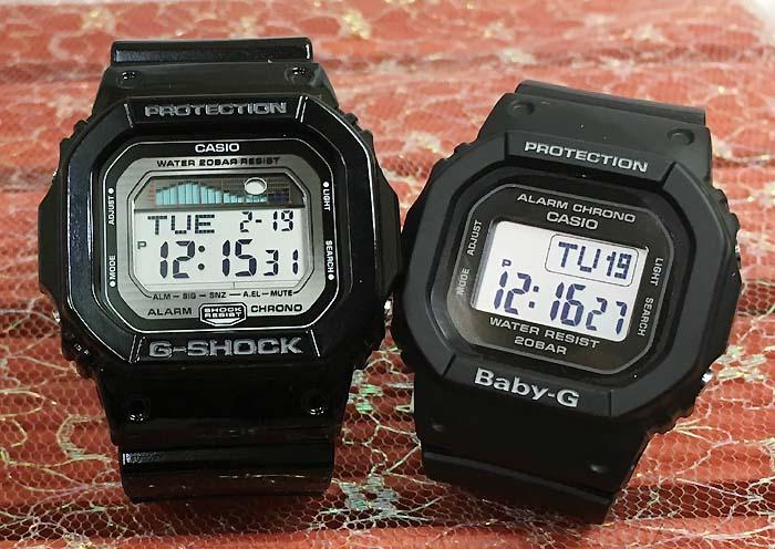 恋人たちのGショック ペアウオッチ G-SHOCK BABY-G ペア腕時計 カシオ 2本セット gショック ベビーg GLX-5600-1JF BGD-560-1JFデジタル 人気 ラッピング無料g-shock あす楽対応 クリスマスプレゼント